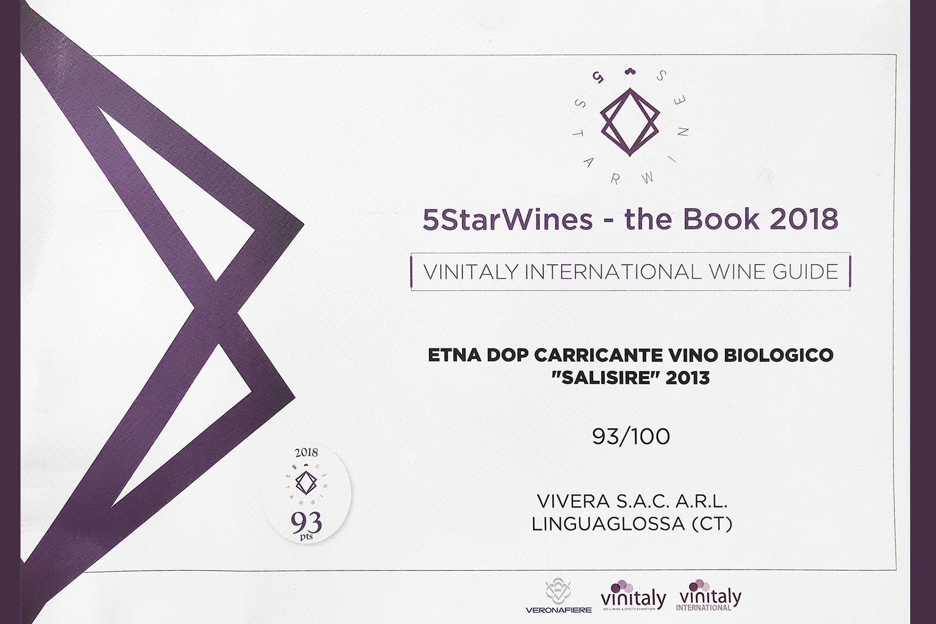 5StarWines Book 2018 Salisire 2013